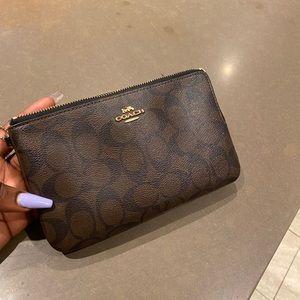 Spacious coach wallet